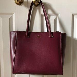 Large Kate Spade Double Zipper Bag